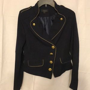 Twenty one Navy & Gold Blazer